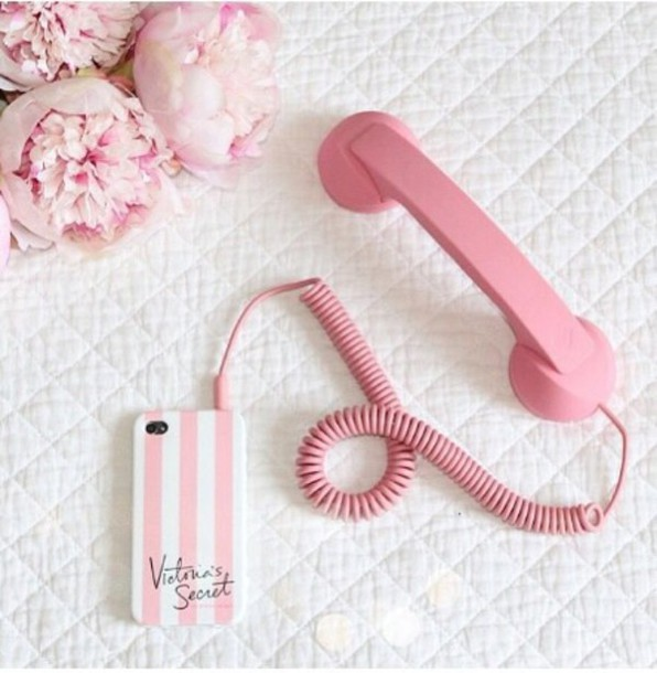 ltg3od-l-610x610-phone+cover-old+phone+vintage-technology-girly+wishlist-home+accessory-vintage-dope-pink-phone-iphone-ios-cool-hipster-phone+accessory-love-apple