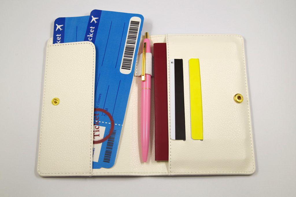 パスポートケース作成例